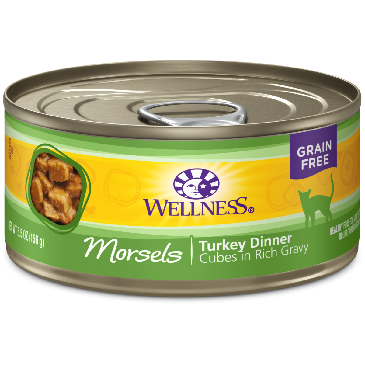 Wellness Cat Canned Complete Health Morsels Turkey Dinner Oz - Invoice system free online health food store