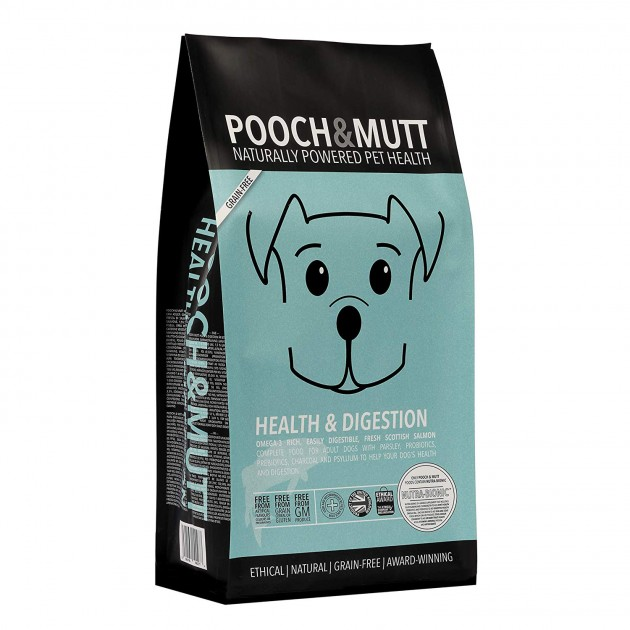 Pooch & Mutt Natural Grain Free Dog Food Health & 'Digestion - 2kg (Out of Stock)