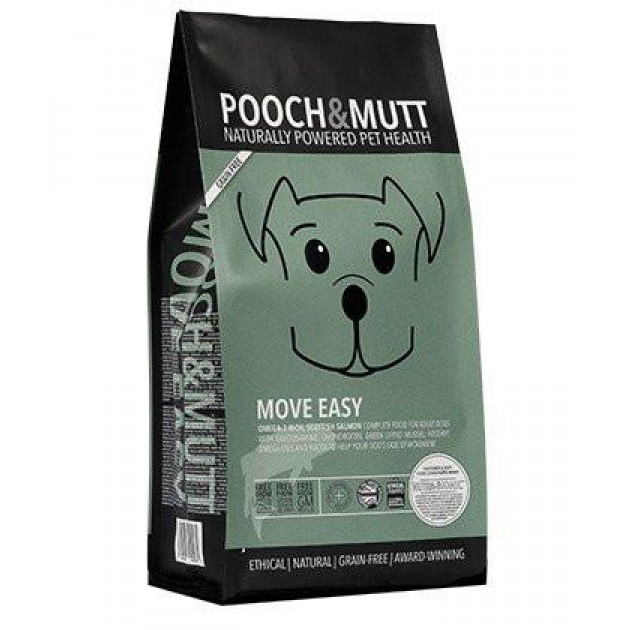 Pooch & Mutt Natural Grain Free Dog Food - Move Easy 2kg