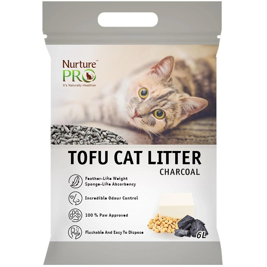 Nurture Pro Cat Tofu Litter Charcoal 6 L