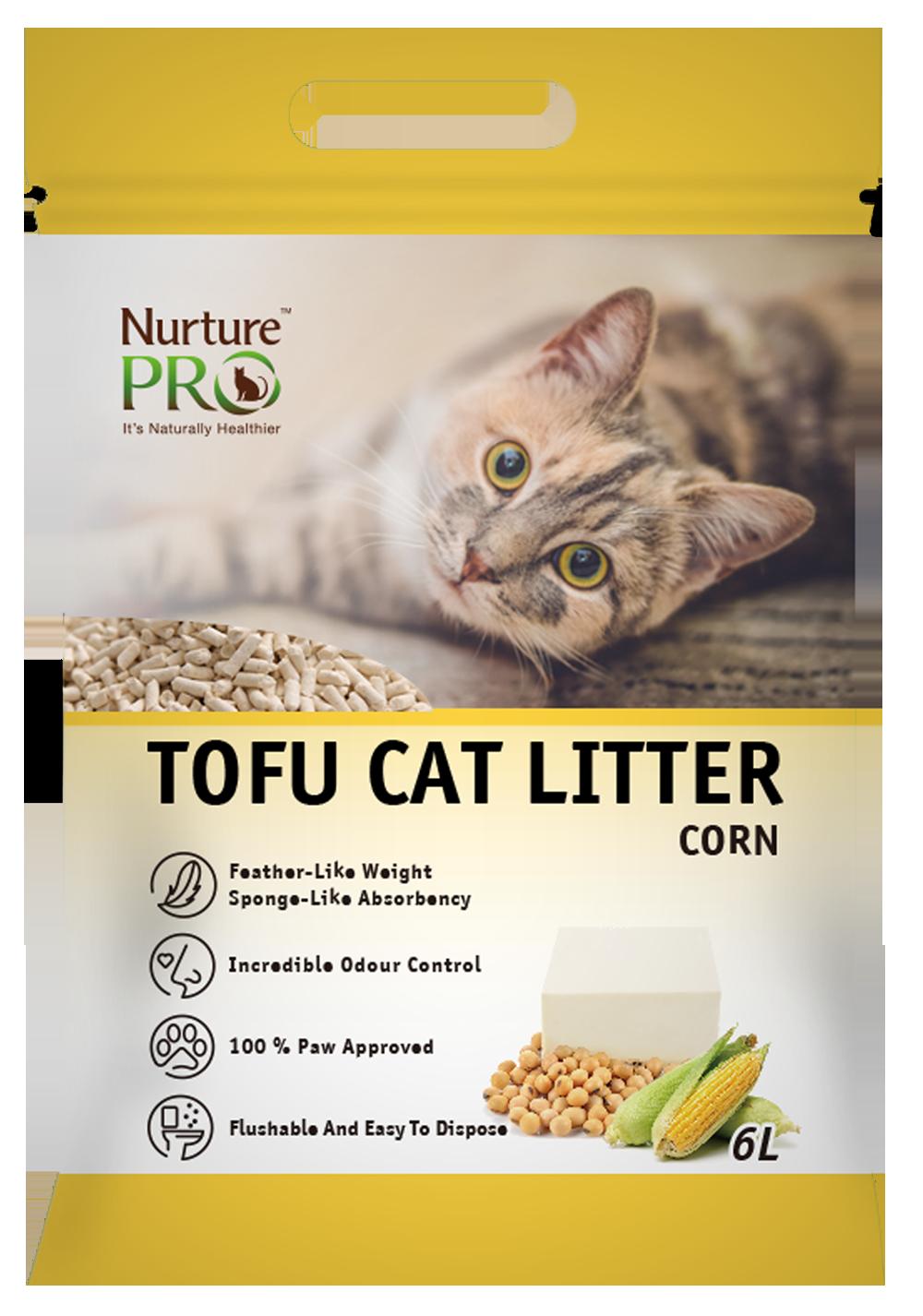 Nurture Pro Cat Tofu Litter Corn 6 L