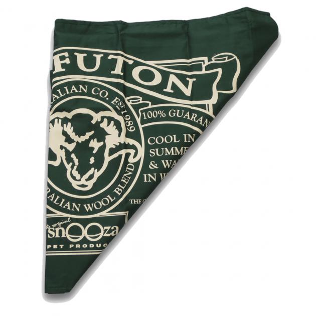 Snooza Pet Futon Covers Green