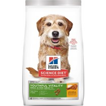 Science Diet Canine Adult 7+ Youthful Vitality Small & Mini Chicken & Rice Recipe - 12.5lbs