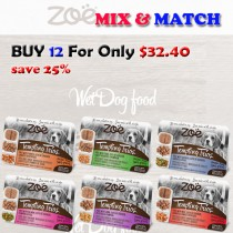 ''Zoe Dog Pate Wet Food Mix & Match BUY 12 FOR ONLY $32.40