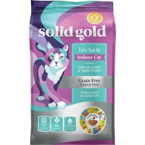 Solid Gold Cat Let's Stay In Indoor Cat - Salmon, Lentils & Apples 6lbs