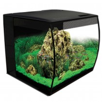 Fluval Flex Aquarium Set Black - 57 L (15 US gal)