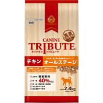 Canine Tribute Chicken For Dog All Lifestages 2.4kg (800g x 3)