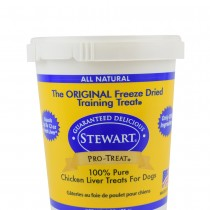 Stewart Pro-Treat® Freeze Dried Chicken Liver Tub - 11.5 oz