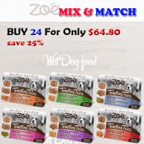 ''Zoe Dog Pate Wet Food Mix & Match BUY 24 FOR ONLY $64.80