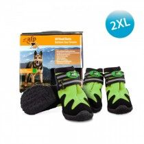 All For Paws - Outdoor Dog Shoes (#6) 2XL - Green (Out of Stock)