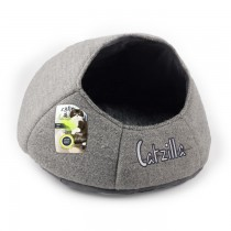 All For Paws - Catzilla Nest Cat Bed Grey