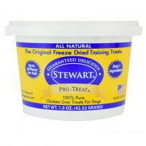Stewart Pro-Treat® Freeze Dried Chicken Liver Tub - 1.5 oz