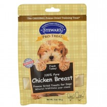 Stewart Pro-Treat® Freeze Dried Chicken Breast Pouch - 3 oz