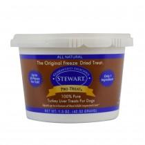 Stewart Pro-Treat® Freeze Dried Turkey Liver Tub - 1.5 oz