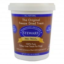 Stewart Pro-Treat® Freeze Dried Turkey Liver Tub - 3 oz