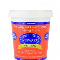 Stewart Pro-Treat® Freeze Dried Pork Liver Tub - 12 oz