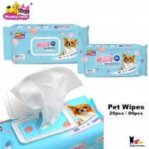 Honeycare Super Clean Pet Wipes 80pc