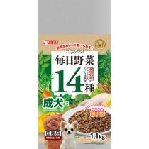 Sunrise 'Semi-Moist Food Gonta 14 Veggies Adult Dog - 1.1kg