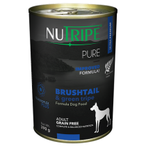 Nutripe Dog Canned Pure' Brushtail & Green Tripe Formula 390g