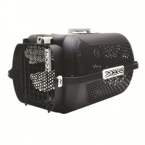 Catit Voyageur Style Profile Cat Carrier - Black Tiger Accent - Available in S & M