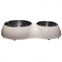 Catit Cat Double Diner - White
