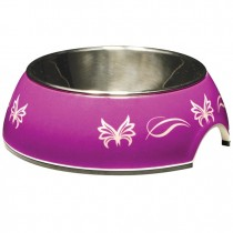 Catit 2-in-1 Style Cat Dish - Butterfly