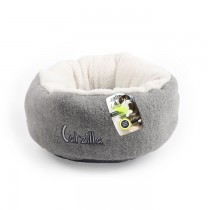 All For Paws - Catzilla Mellow Cat Bed Grey