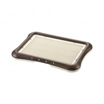 Richell Pee Tray With Mesh Regular (45W x 35D x 4H cm) - Brown