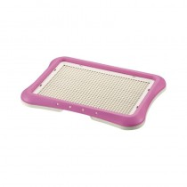 Richell Pee Tray With Mesh Regular (45W x 35D x 4H cm) - Pink
