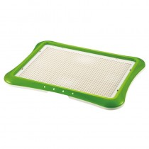 Richell Pee Tray With Mesh Wide (64W x 48D x 4H cm) - Green
