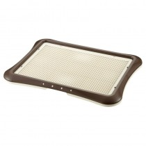 Richell Pee Tray With Mesh Wide (64W x 48D x 4H cm) - Brown