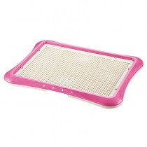 Richell Pee Tray With Mesh Wide (64W x 48D x 4H cm) - Pink