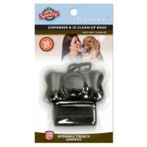 Spotty™ Bags To Go™ Dispenser & 20 Bags, Black