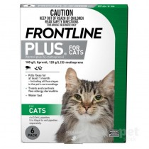FRONTLINE® Plus For Cats – 6 Pipettes