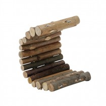 Living World TreeHouse Real Wood Logs - Small