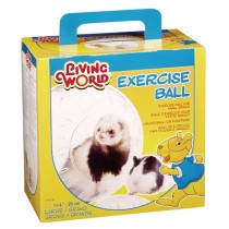 Living World Exercise Ball with Stand - Large