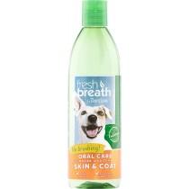 Tropiclean Fresh Breath Water Additive + Plus Skin & Coat 16oz