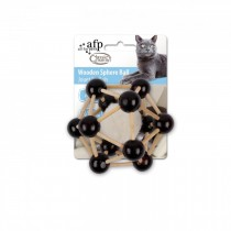 All For Paws - Classic Comfort Wooden Sphere Ball