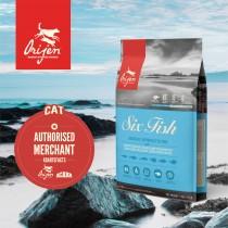 Orijen Cat Six Fish - 5.4kg