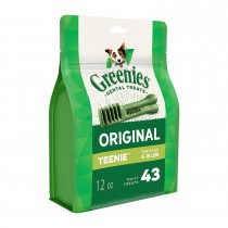 GREENIES™ Dog Dental Treats Original TEENIE™ 12oz. (43pcs)
