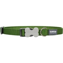 Red Dingo Dog Collar Classic - Green - Available In S, M, ML & L
