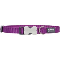 Red Dingo Dog Collar Classic - Purple - Available In S, M, ML & L
