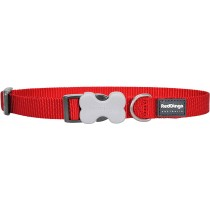 Red Dingo Dog Collar Classic - Red - Available In S, M, ML & L