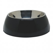 Dogit 2-in-1 Dog Dish Black - Available in X-Small, Small, Medium & Large