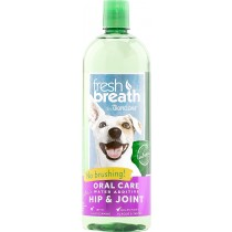 Tropiclean Fresh Breath Water Additive + Plus Hip & Joint 16oz