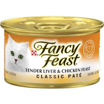Fancy Feast Canned Classic Tender Liver & Chicken Feast 85g