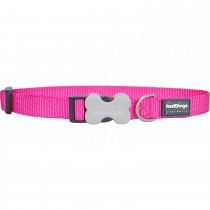 Red Dingo Dog Collar Classic - Hot Pink - Available In S, M, ML & L