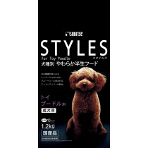 Sunrise 'Semi-Moist Food Styles For Adult Toy Poodle - 1.2kg