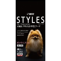 Sunrise 'Semi-Moist Food Styles For Adult Pomeranian - 1.2kg