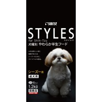 Sunrise 'Semi-Moist Food Styles For Adult Shih Tzu - 1.2kg